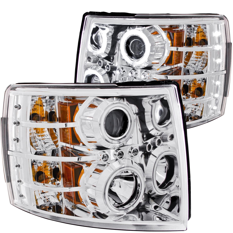 Anzo USA 111086 Projector Headlight Set w/Halo