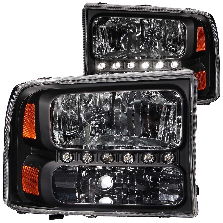 Anzo USA 111106 Crystal Headlight Set