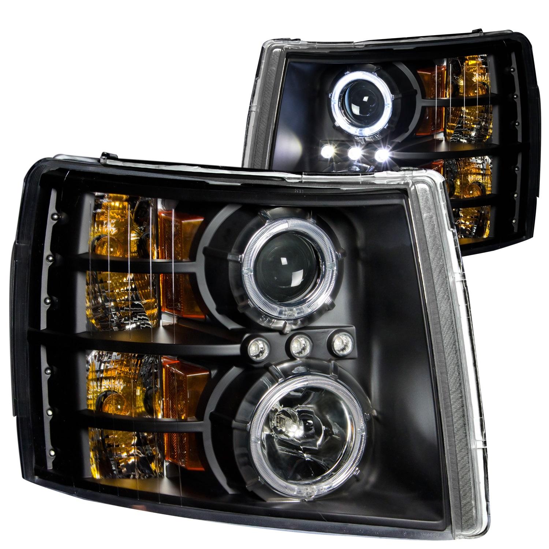 Anzo USA 111107 Projector Headlight Set w/Halo