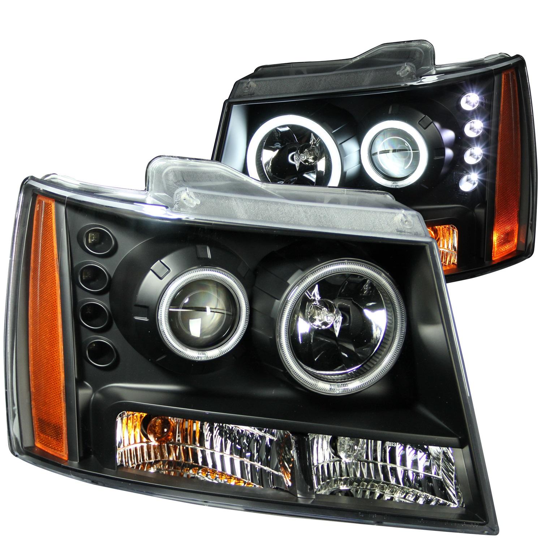 Anzo USA 111109 Projector Headlight Set w/Halo