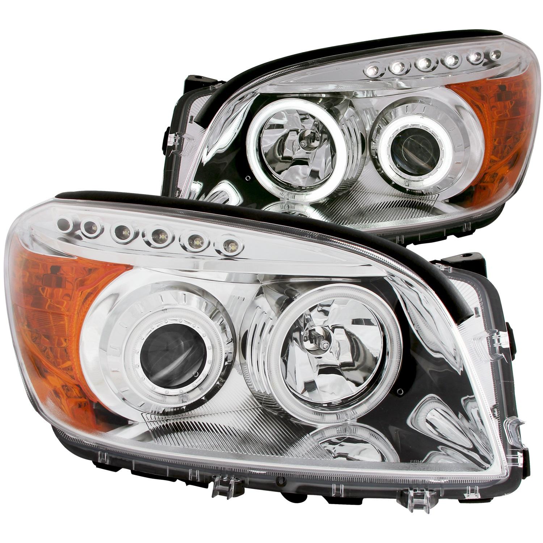 Anzo USA 111121 Projector Headlight Set w/Halo Fits 06-08 RAV4