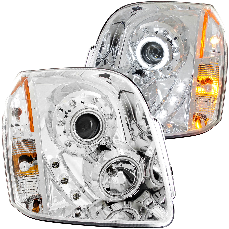 Anzo USA 111147 Projector Headlight Set w/Halo