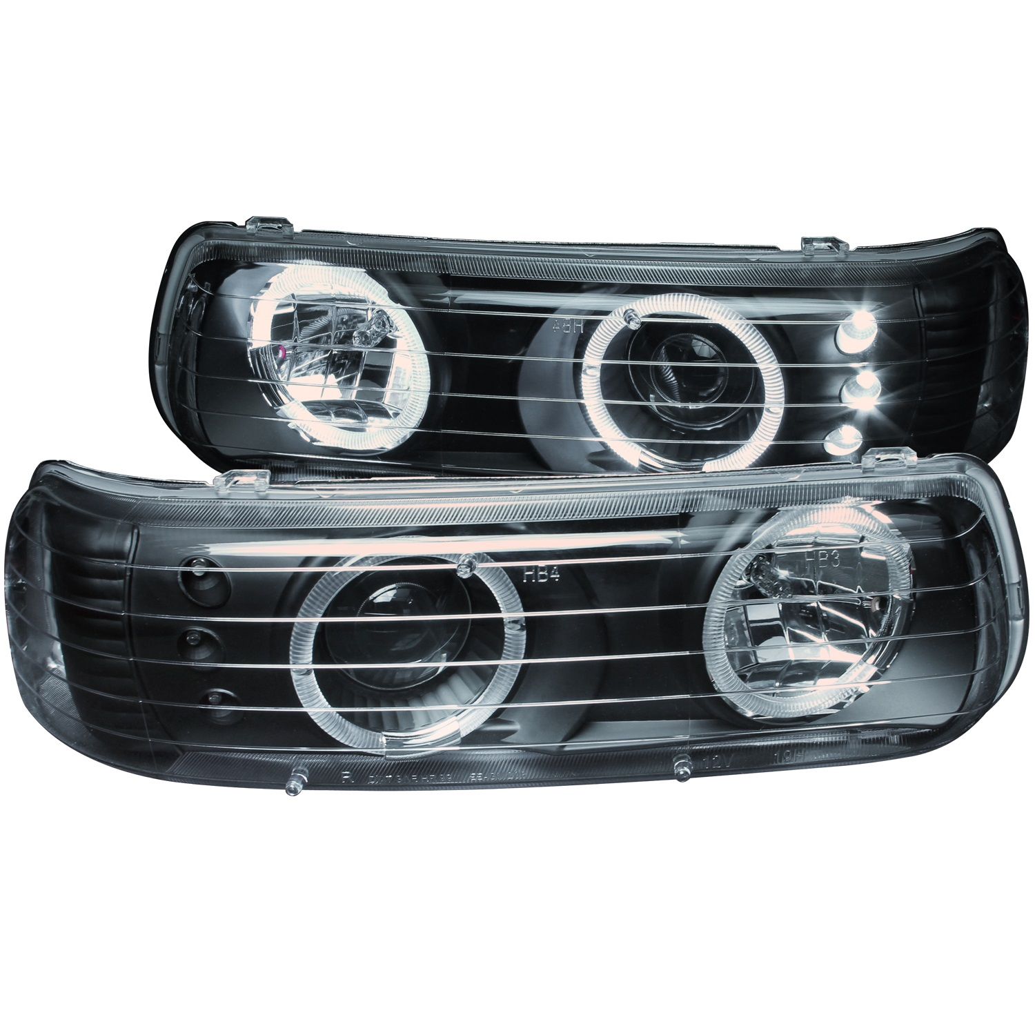 Anzo USA 111189 Projector Headlight Set w/Halo