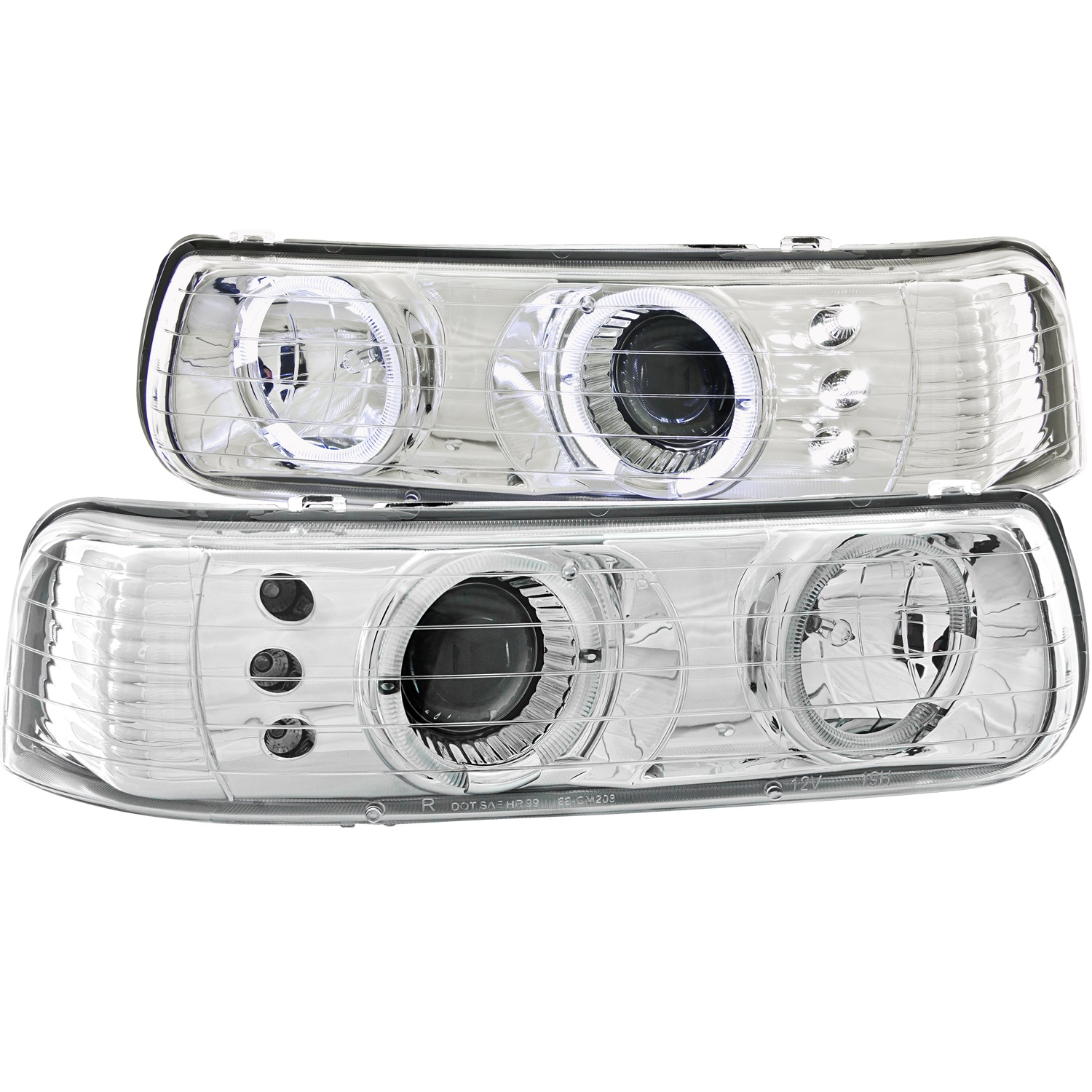 Anzo-USA-111190-Projector-Headlight-Set-w-Halo