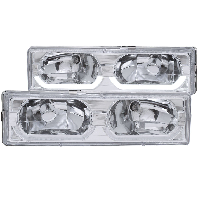 Anzo USA 111300 Crystal Headlight Set