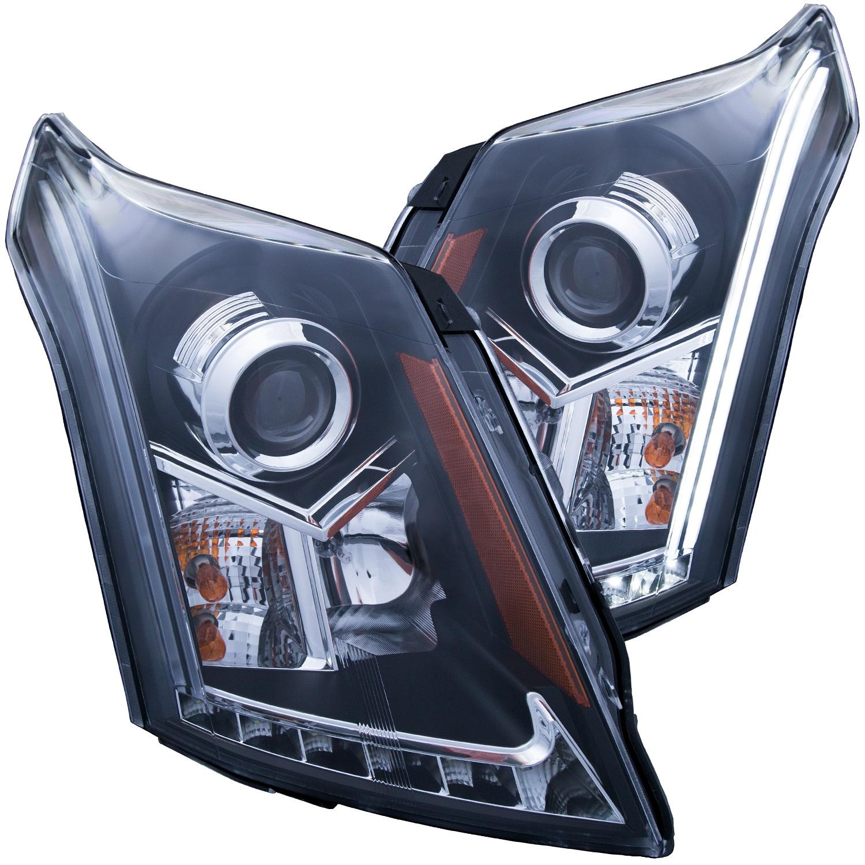 Anzo USA 111308 Projector Headlight Set Fits 10-15 SRX