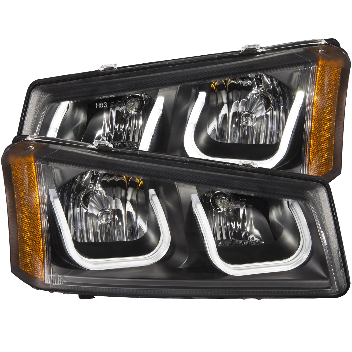 Anzo USA 111312 Projector Headlight Set