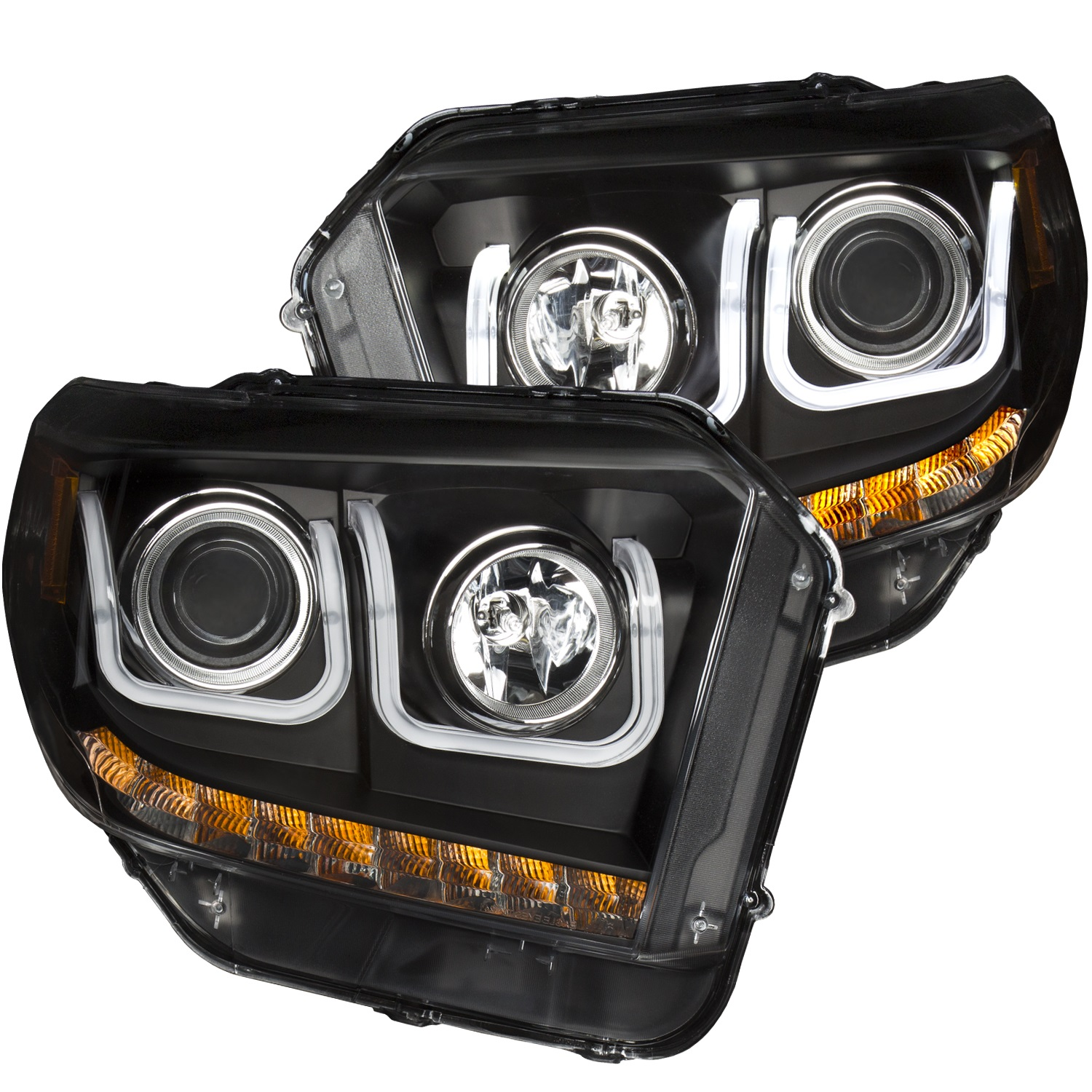 Anzo USA 111318 Projector Headlight Set Fits 14-19 Tundra