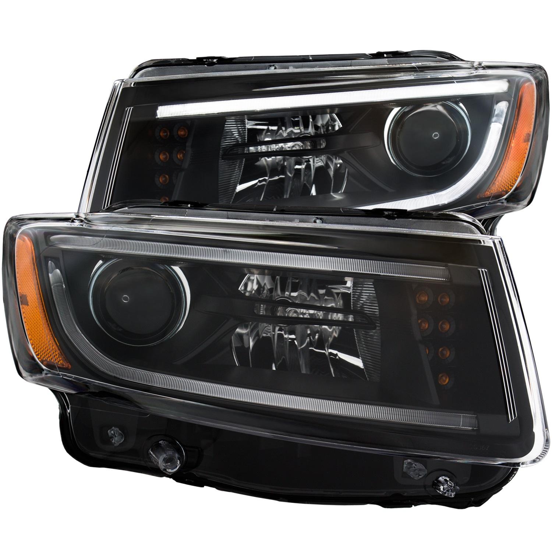 Anzo USA 111329 Projector Headlight Set Fits 14-15 Grand Cherokee