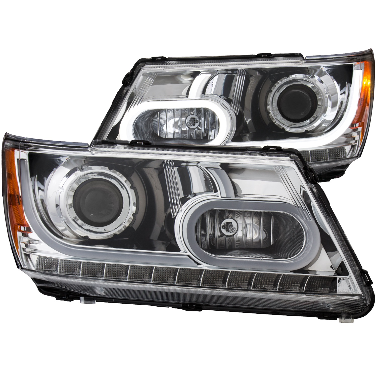 Anzo USA 111335 Projector Headlight Set Fits 09-14 Journey