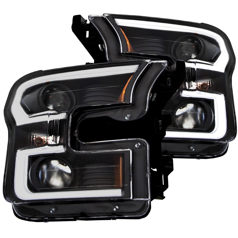 Anzo USA 111347 Projector Headlight Set Fits 15-17 F-150
