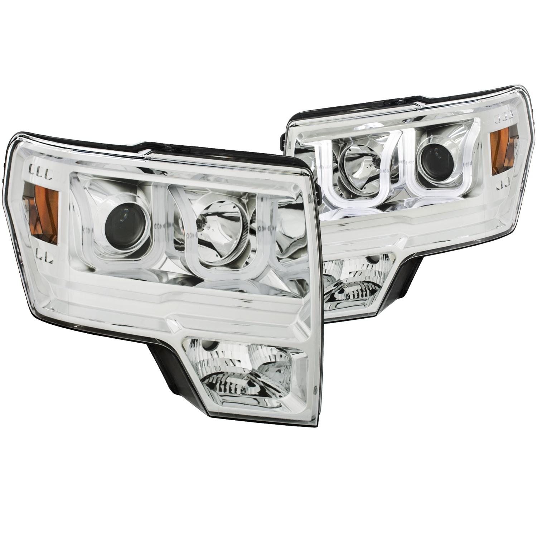 Anzo USA 111352 Projector Headlight Set Fits 09-14 F-150