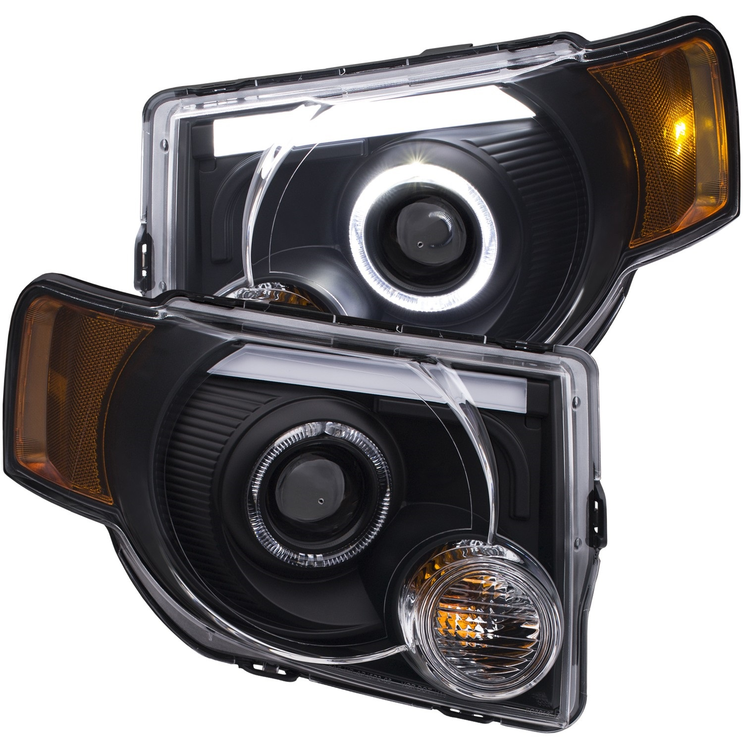 Anzo USA 111355 Projector Headlight Set Fits 08-12 Escape