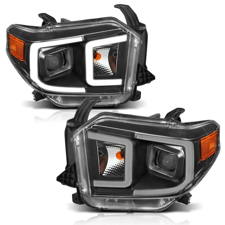 Anzo USA 111414 Projector Headlight Set Fits 14-17 Tundra
