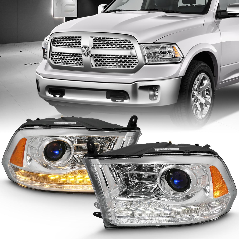 Anzo USA 111440 Projector Headlight Set w/Halo