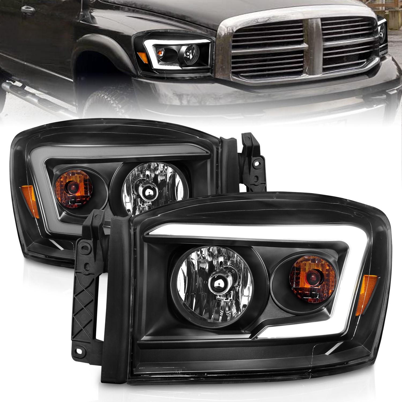 Anzo USA 111524 Crystal Headlight Set Fits 06-09 Ram 1500 Ram 2500 Ram 3500