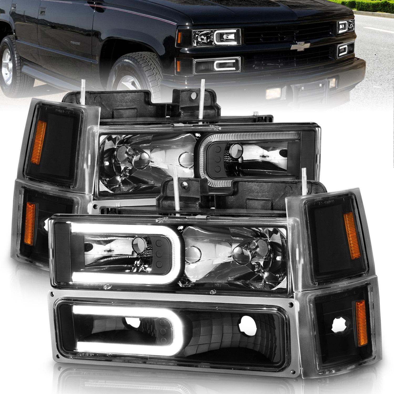 Anzo USA 111528 Crystal Headlight Set