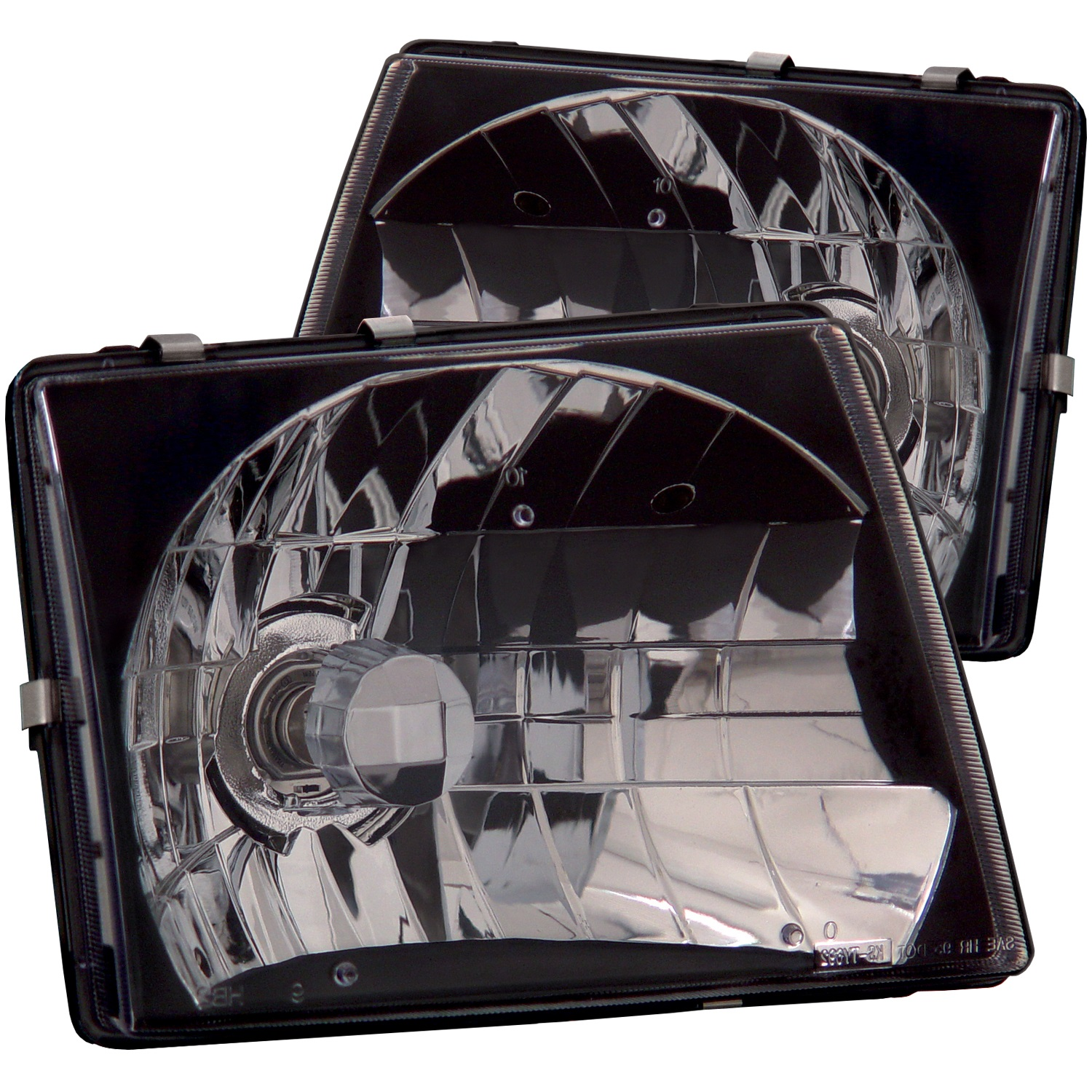 Anzo USA 121139 Crystal Headlight Set Fits 97-00 Tacoma