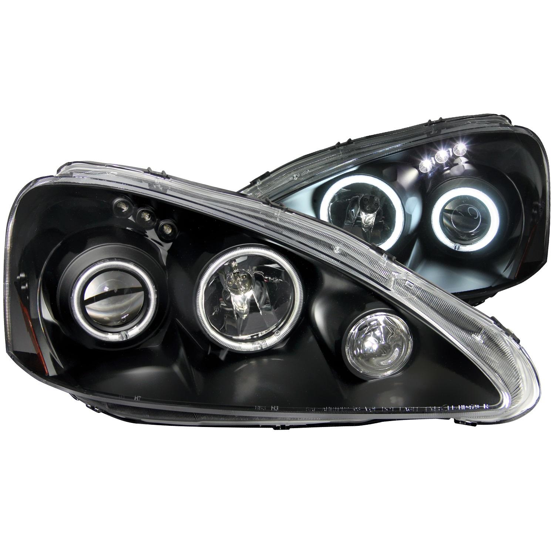 Anzo USA 121197 Projector Headlight Set w/Halo Fits 05-06 RSX