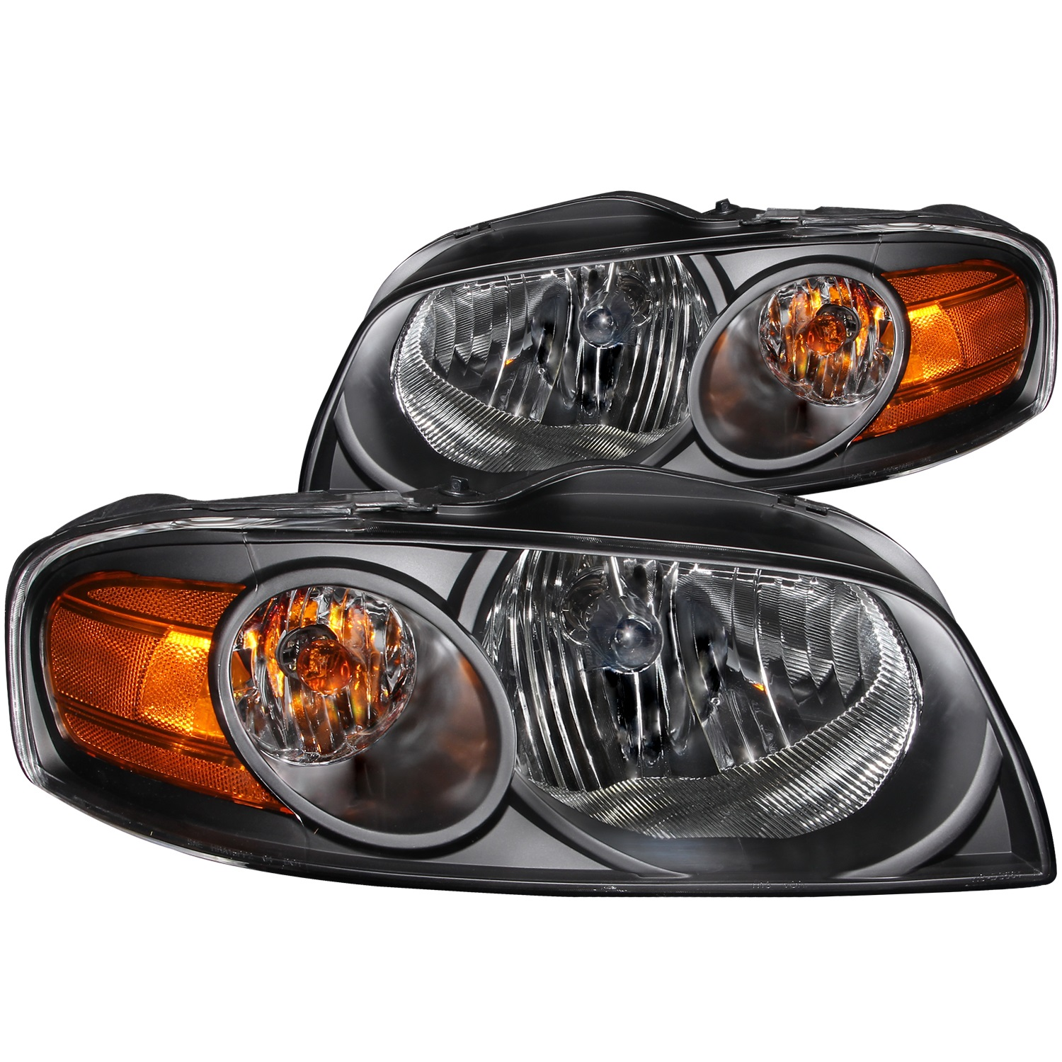 Anzo USA 121235 Crystal Headlight Set Fits 04-06 Sentra
