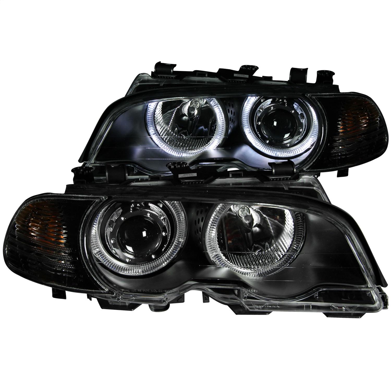 Anzo USA 121269 Projector Headlight Set w/Halo Fits 323Ci 325Ci 328Ci 330Ci M3