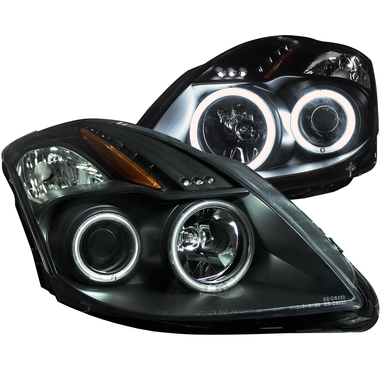 Anzo USA 121395 Projector Headlight Set w/Halo Fits 08-10 Altima