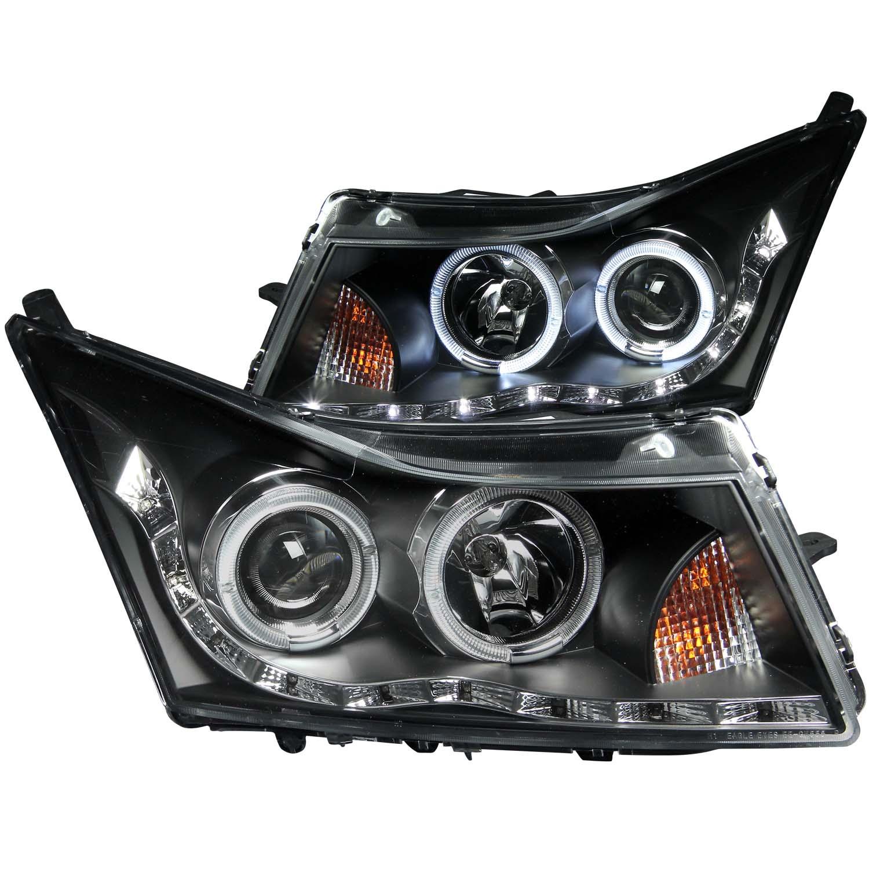 Anzo USA 121400 Projector Headlight Set w/Halo Fits 11-15 Cruze