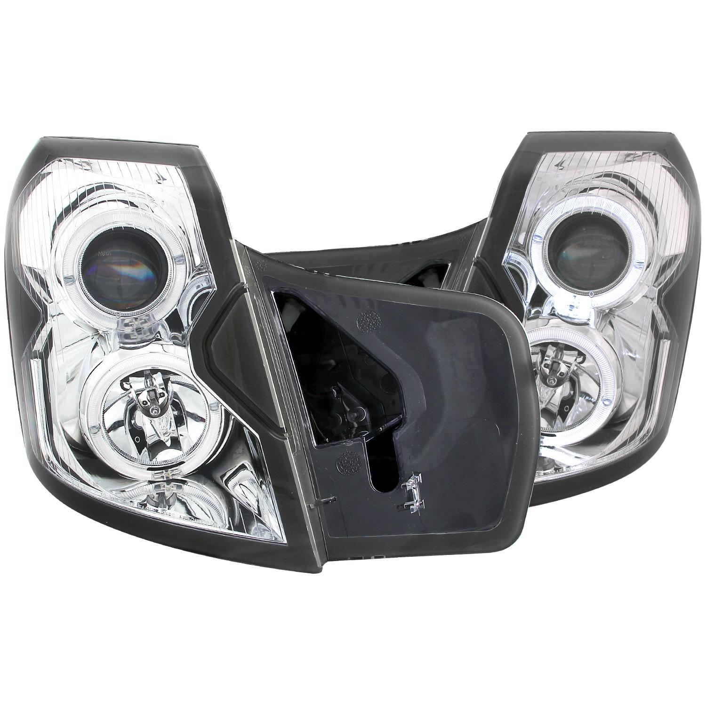 Anzo USA 121416 Projector Headlight Set w/Halo Fits 03-07 CTS