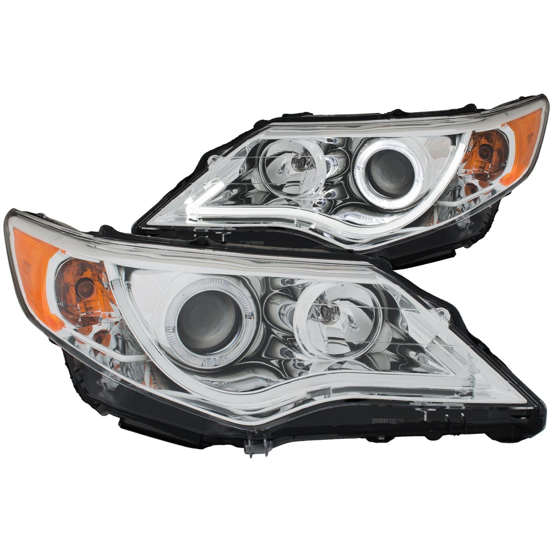 Anzo USA 121513 Projector Headlight Set w/Halo Fits 12-13 Camry
