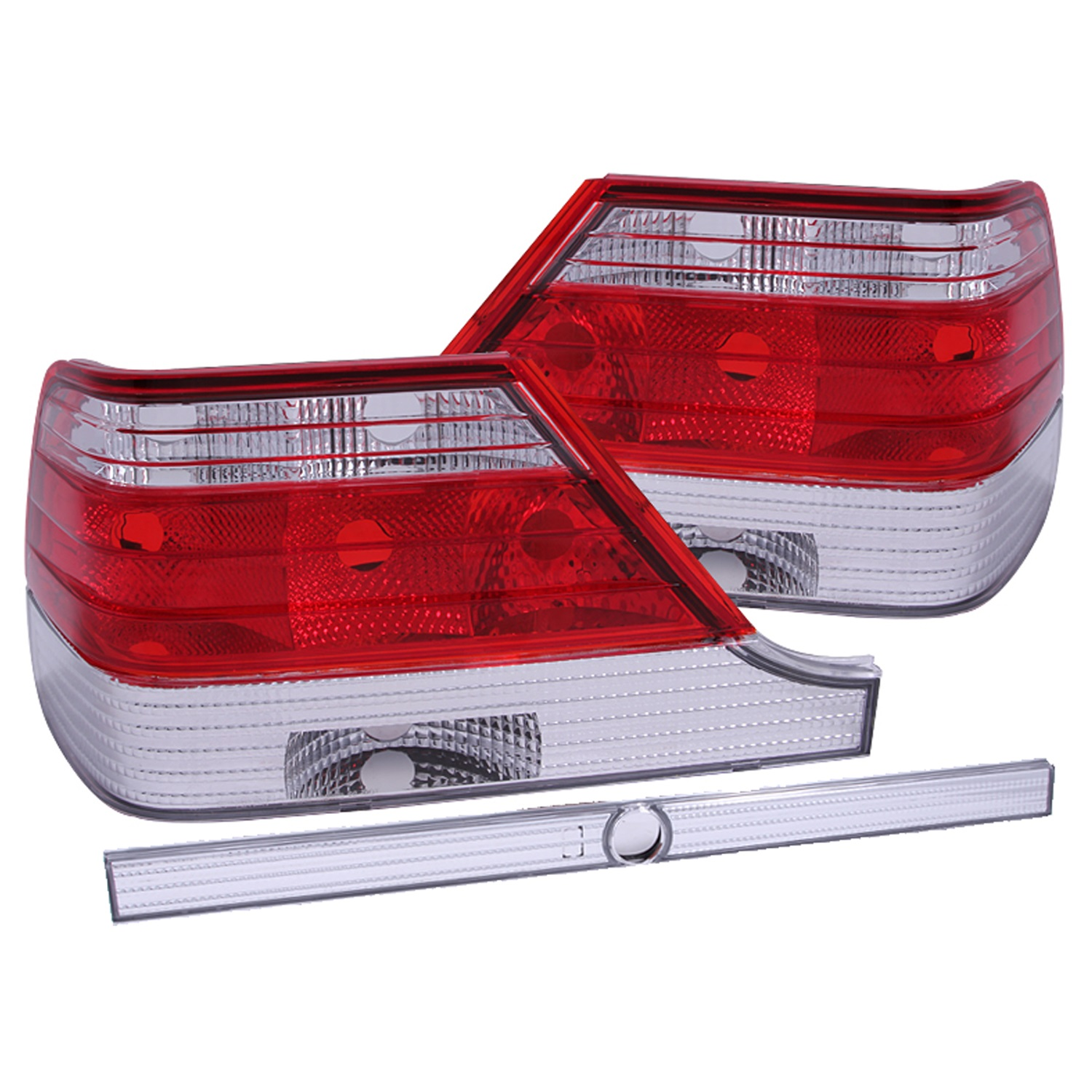Anzo USA 221153 Tail Light Assembly Fits 97-99 S320 S420 S500 S600
