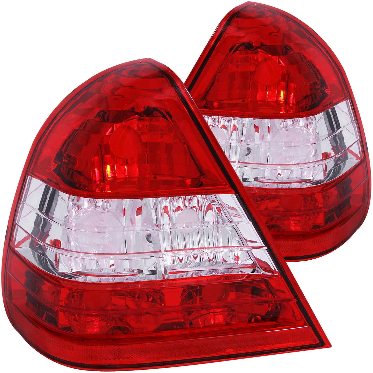 Anzo USA 221157 Tail Light Assembly Fits 94-00 C220 C230 C280 C36 AMG C43 AMG