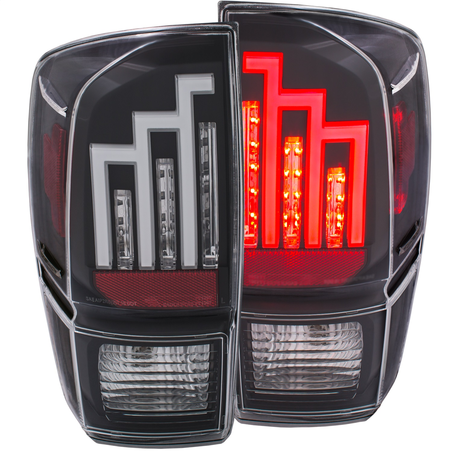 Anzo USA 311281 Tail Light Assembly Fits 16-19 Tacoma