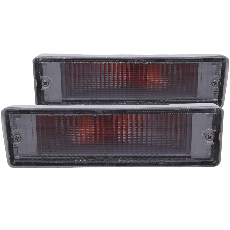 Anzo USA 511016 Euro Parking Lights Fits 86-97 D21 Pickup (Hard Body) Pathfinder