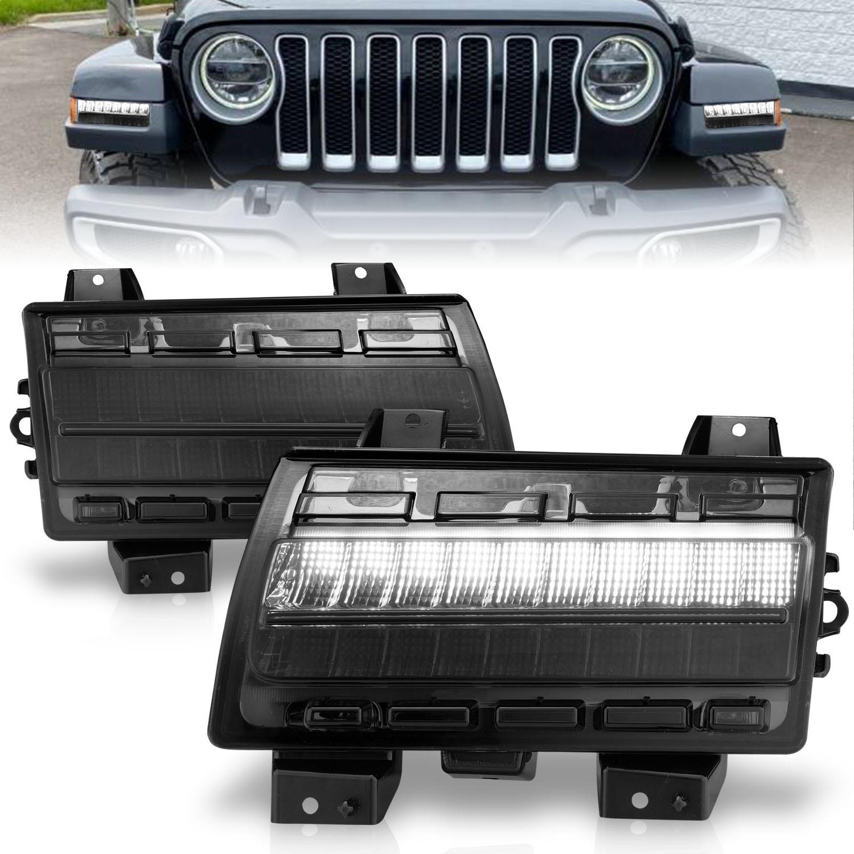 Anzo USA 511087 Side Marker Light Assembly Fits 18-21 Wrangler (JL)