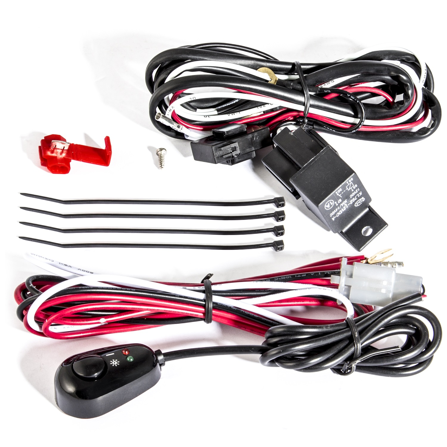 Anzo USA 851062 12V Auxiliary Wiring Kit