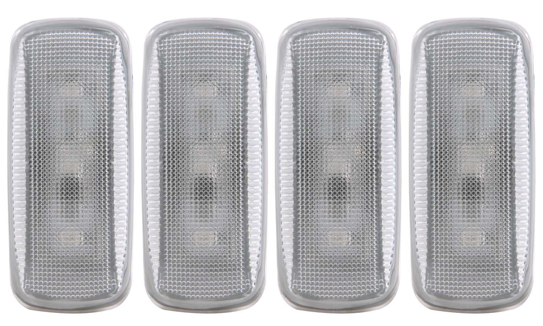 Anzo USA 861106 LED Dually Fender Lights Fits 10-15 3500 Ram 3500