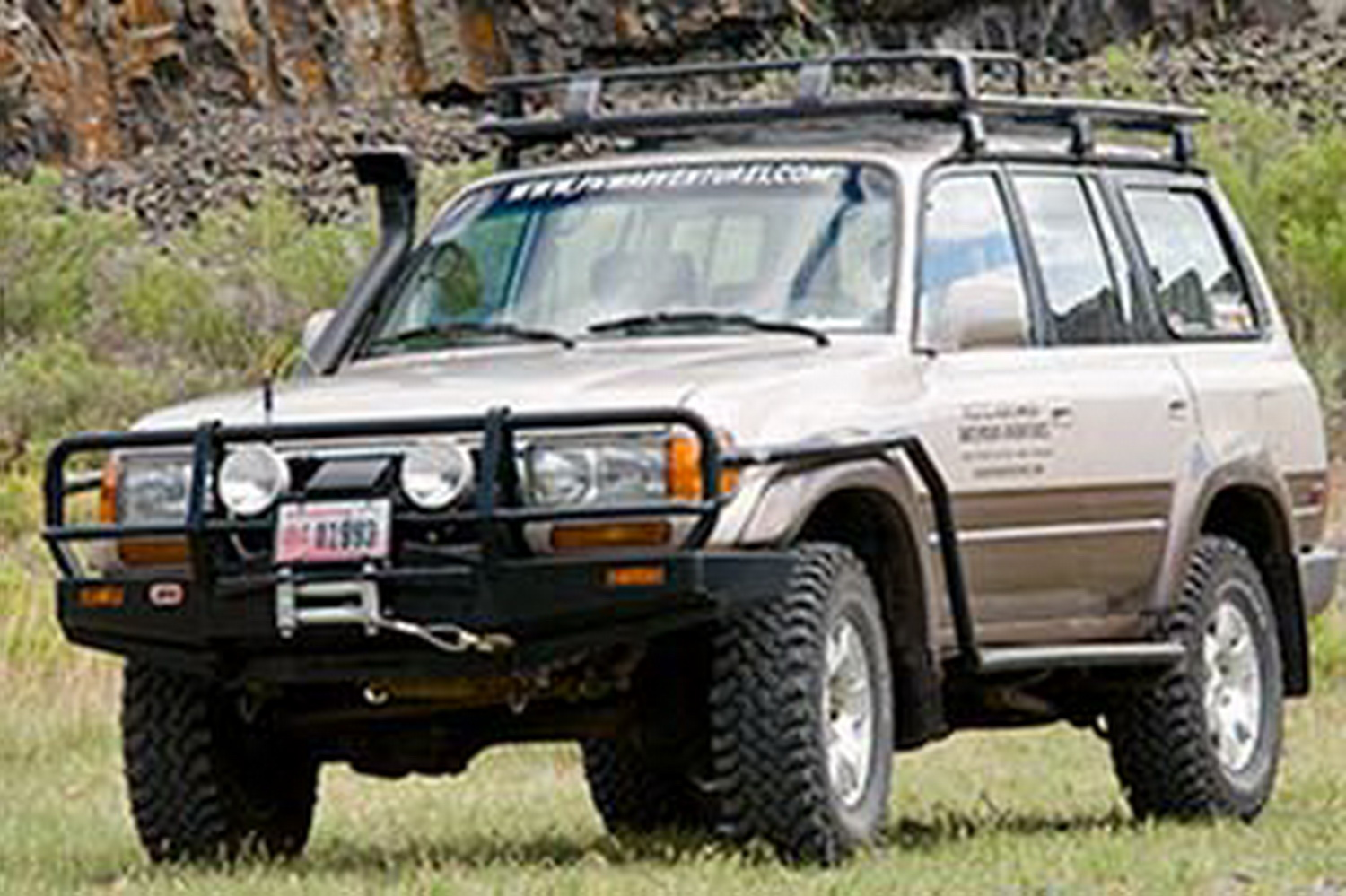ARB 4x4 Accessories 3411050 Front Deluxe Bull Bar Winch Mount Bumper