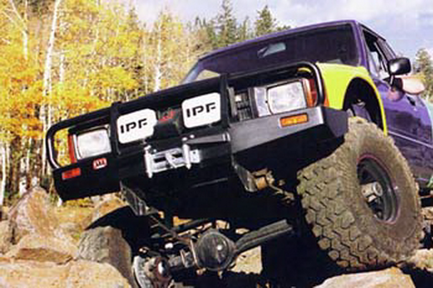 ARB 4x4 Accessories 3414070 Front Deluxe Bull Bar Winch Mount Bumper