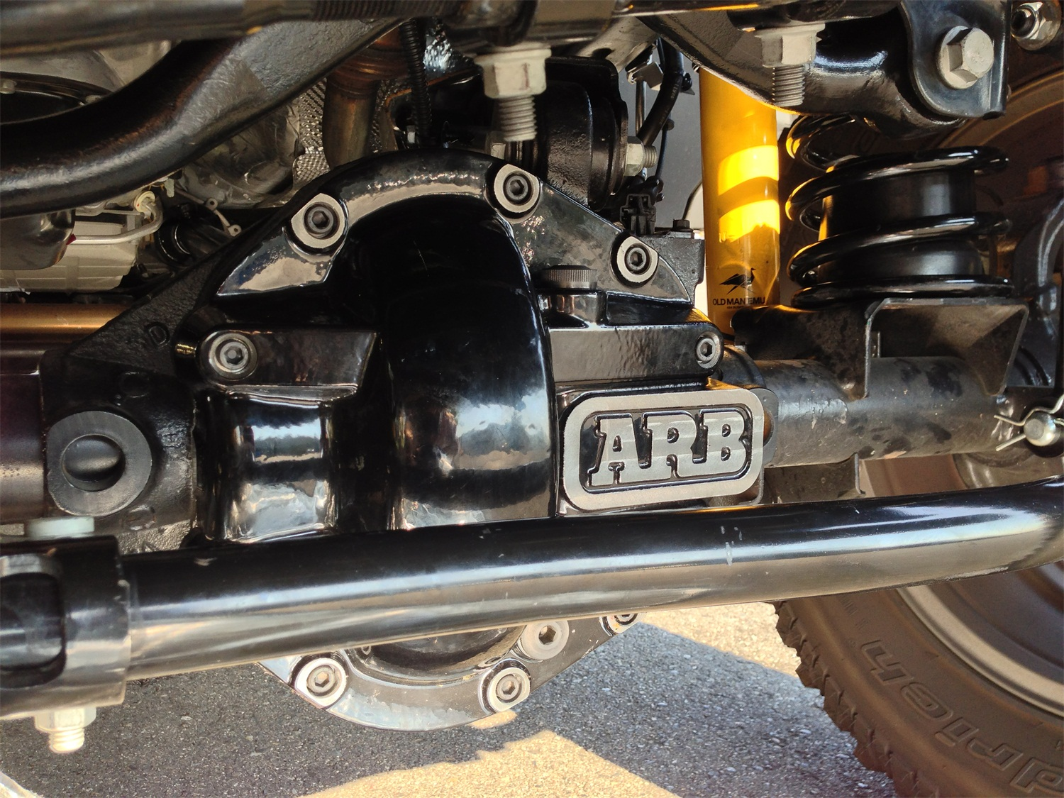 ARB 4x4 Accessories 0750002B Differential Cover Fits TJ Wrangler Wrangler (JK)