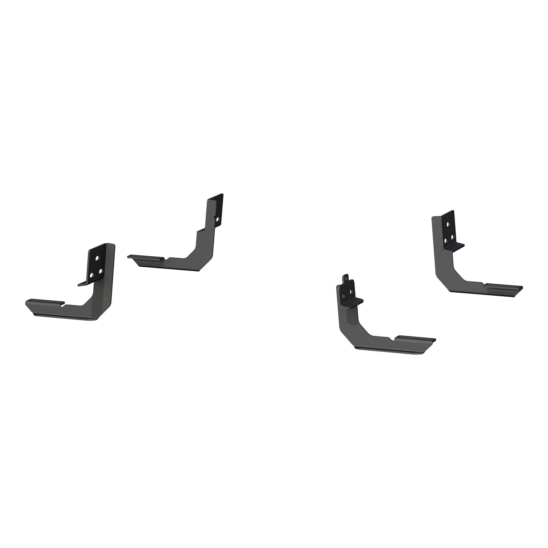 VersaTracT Mounting Brackets, Carbide Black Powder Coat, Carbon Steel
