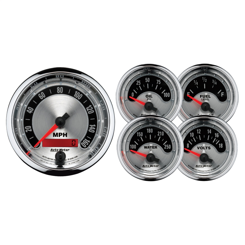 AutoMeter 1202 American Muscle Street Rod Kit