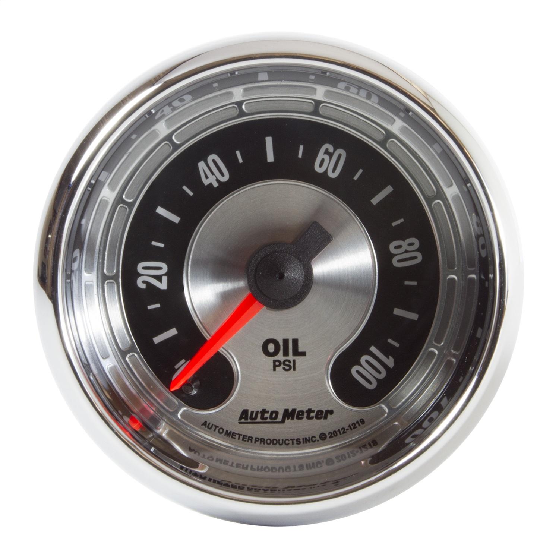 AutoMeter 1219 American Muscle Oil Pressure Gauge