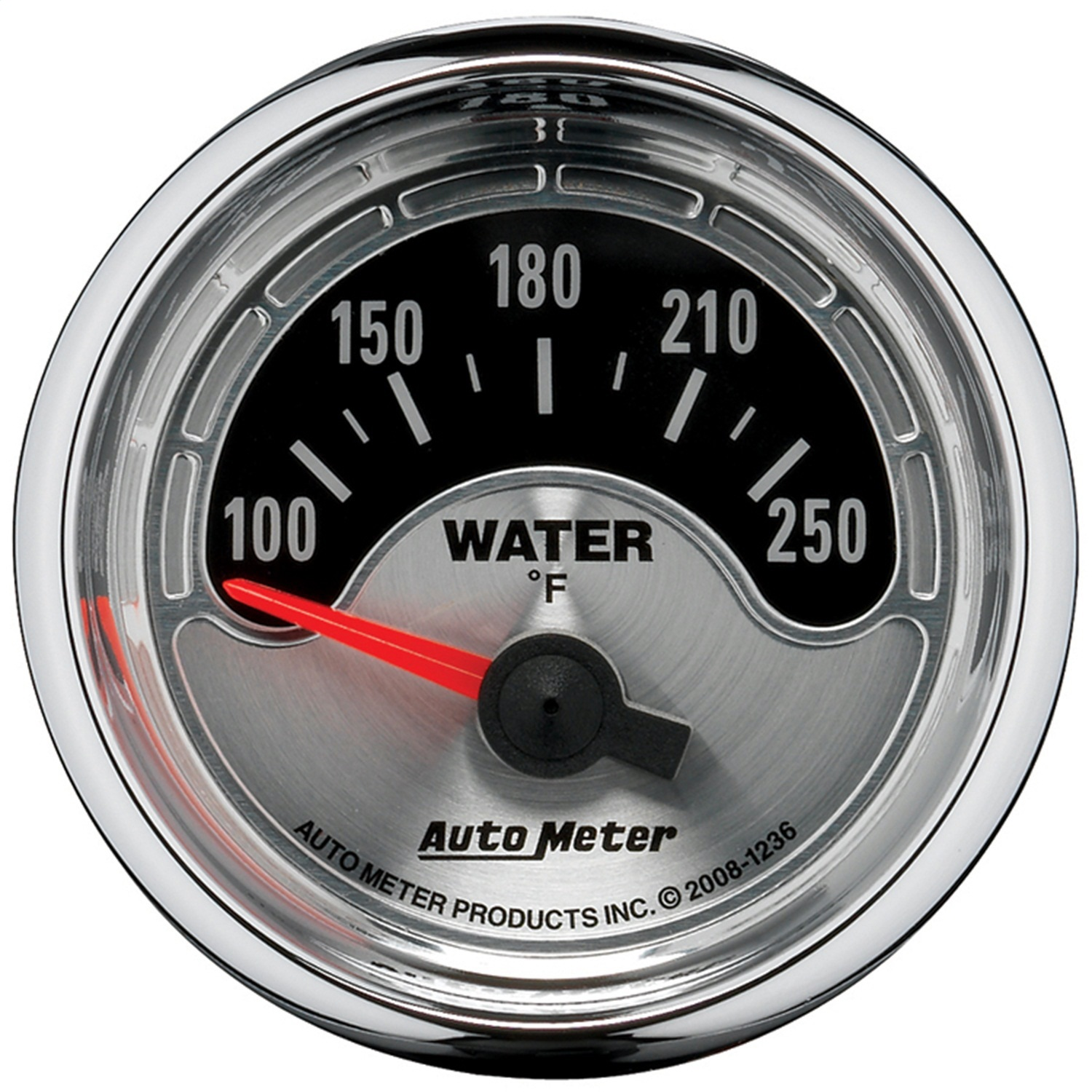 AutoMeter 1236 American Muscle Water Temperature Gauge