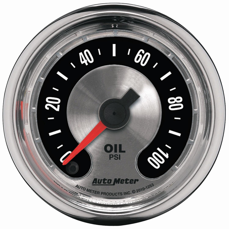 AutoMeter 1253 American Muscle Oil Pressure Gauge