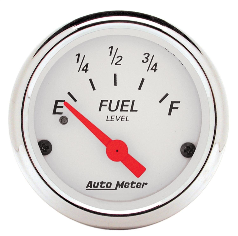AutoMeter 1317 Arctic White Fuel Level Gauge