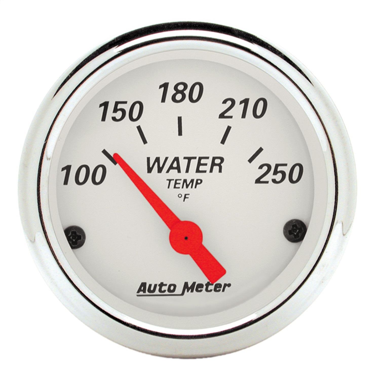 AutoMeter 1337 Arctic White Water Temperature Gauge