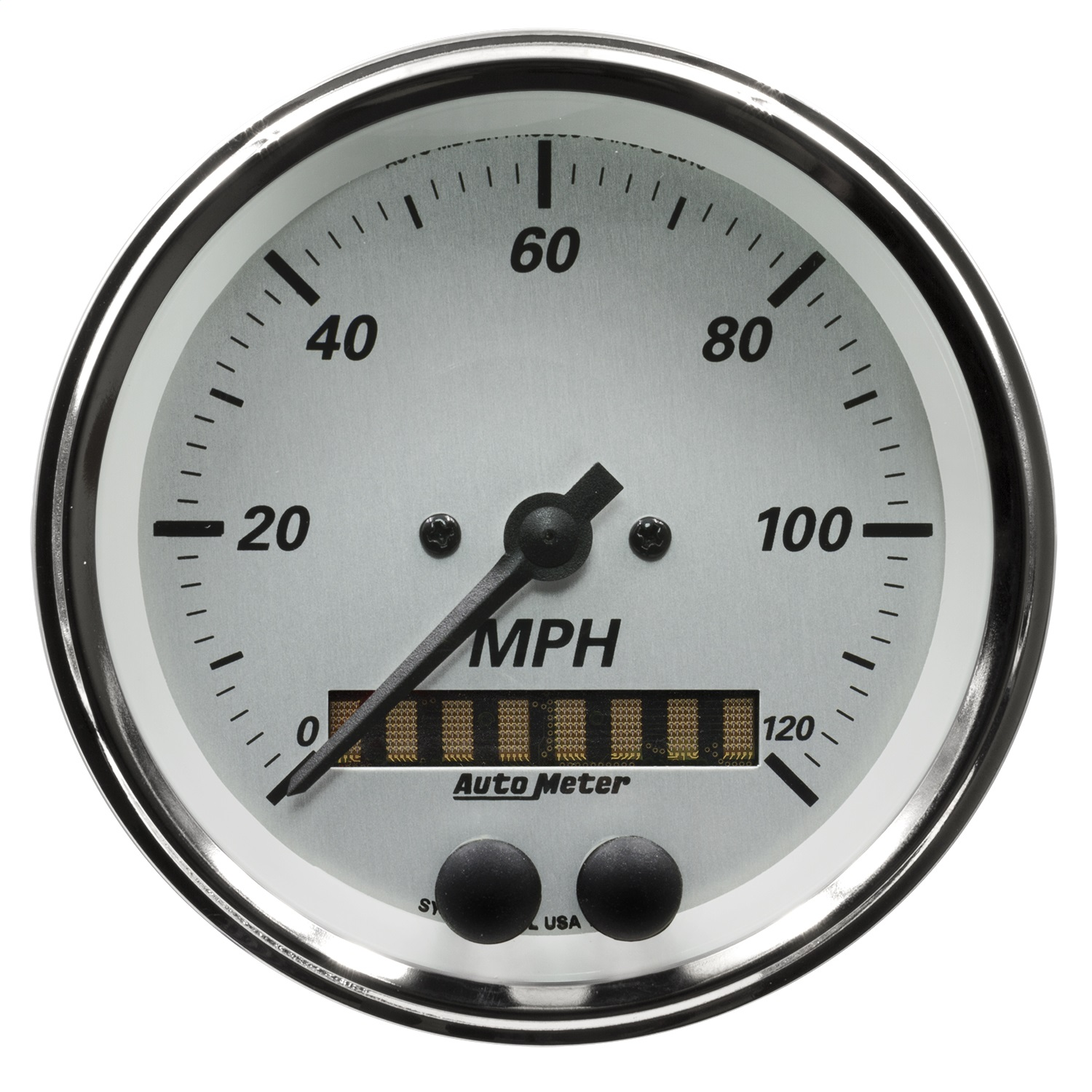 Details about AutoMeter 1949 American Platinum GPS Speedometer