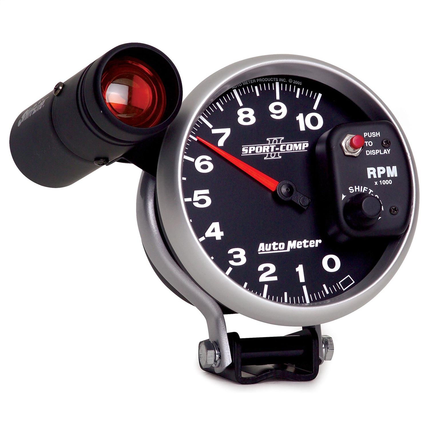 autometer 3699 sport comp ii electric 5 tachometer 0 10k. Black Bedroom Furniture Sets. Home Design Ideas