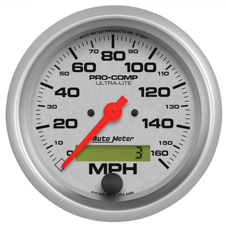 Auto Meter 5156 Pro-Comp Mechanical in-Dash Speedometer