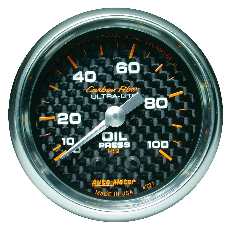 Mechanical Oil Pressure Gauge
